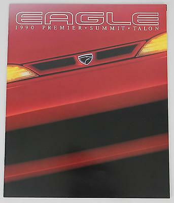 Chrysler 1990 Eagle Premier Summit Talon Sales Brochure / Literature
