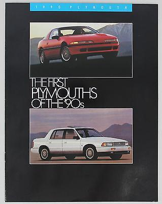 Plymouth 1990 The First Plymouths of the '90s Sales Brochure / Literature