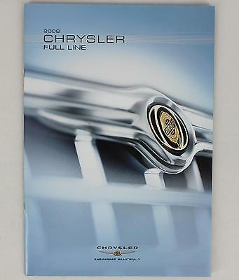 Chrysler 2008 Full Line Sales Brochure / Literature