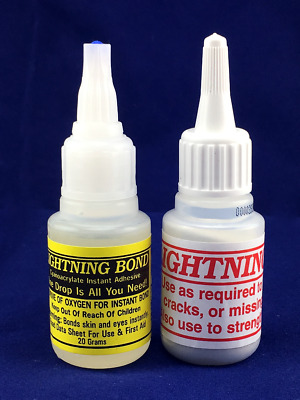 * Lightning Bond © KAYAK REPAIR KIT - INSTANT _ EPOXY = > NO DRY UP Formula !