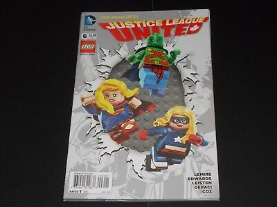 New 52 Justice League United 6 (2015) Lego Variant