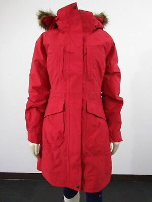 18457f792 WOMENS THE NORTH Face TNF Outer Boroughs Tri Parka Waterproof Down Jacket  Red