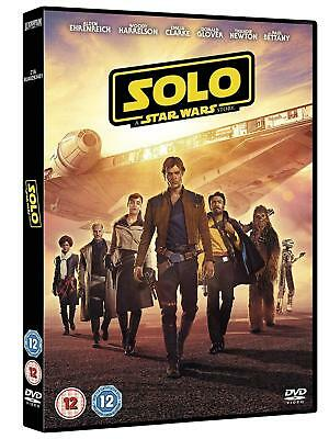 STAR WARS 3.7 (2018) SOLO: A STAR WARS STORY - Han - NEW Eu Rg2 2D DVD not US