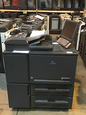 Konica Minolta Bizhub PRO 951 Copier Mono Printer Scanner Finisher Lct Low METER