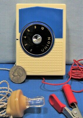 RARE 1940'S MYSTERY Radio In Original Box With Instructions