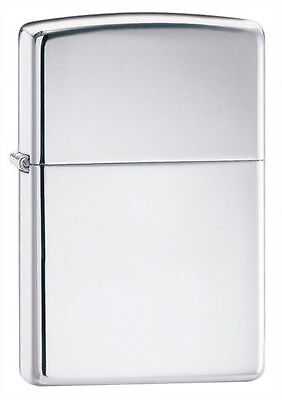 Zippo 250, High Polish Chrome Finish Lighter, Pipe Insert (PL)
