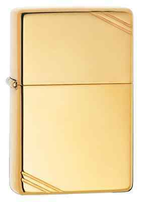 Zippo 270, Vintage Design-1937, High Polish Brass Lighter, Pipe Insert (PL)