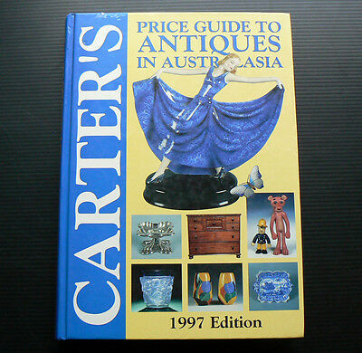 1997 CARTER'S Price Guide to Antiques in Australasia Carters antique pottery toy