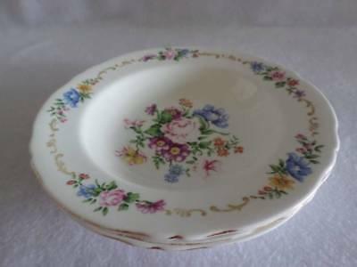 Crown Staffordshire Pattern F16166 Vintage Soup Bowl Rare Multiples Available