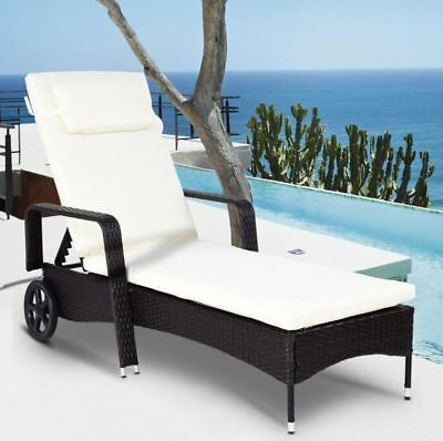 Superb Chaise Lounge Chair Cushion Pool Lounger Outdoor Patio Alphanode Cool Chair Designs And Ideas Alphanodeonline