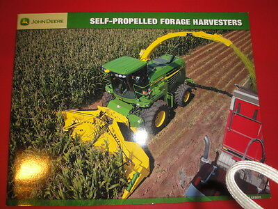 John Deere Self-Propelled Forage Harvester Advertising Brochure