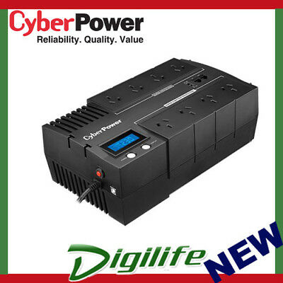 CyberPower BR850ELCD BRIC LCD 850VA / 510W Simulated Sine Wave UPS