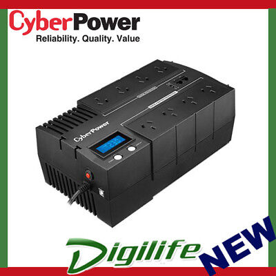 CyberPower BR1000ELCD BRIC LCD 1000VA / 600W Simulated Sine Wave UPS