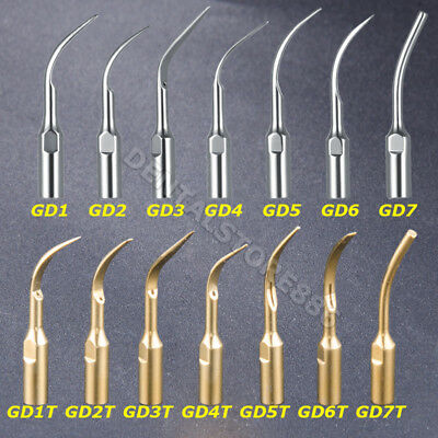 14 Type GD Dental Ultrasonic Scaler Scaling Endo Perio Tip Fit NSK DTE SATELEC