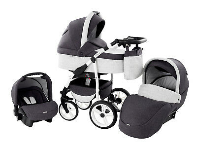 "TriBeCe ""Wind"" Landau Poussette 3in1"