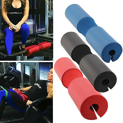 New Foam Padded Barbell Bar Cover Pad Weight Lifting Shoulder Backs Supports