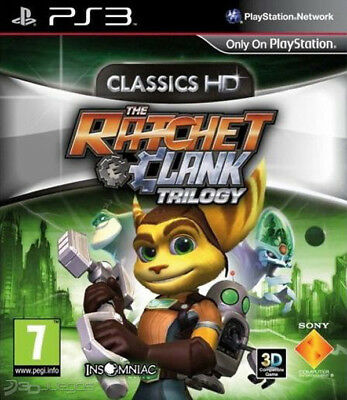 ratchet and clank trilogy para PS3 -OFERTA LIMITADA-