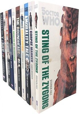 BBC Doctor Who Series Collection 10 Books Set Pack Harvest of Time, Dark Horizon