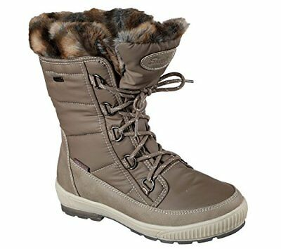 5b8e6d78288 SKECHERS WOMEN'S WOODLAND Mid Calf Cold Weather Boot Chocolate ...