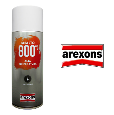 Arexons Bomboletta Smalto Spray Vernice 800C Alta Temperatura  Ml400 Vari Colori