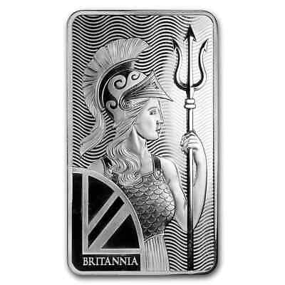 10 oz Silver Bar - The Royal Mint Britannia - SKU#173009