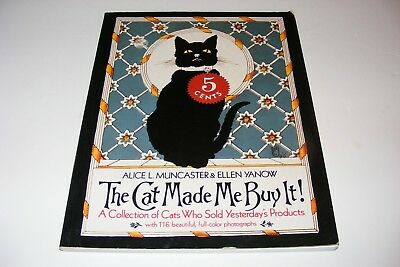 Cats Feline Advertising History Book Illustrated Ads Animal Sign Labels Soap Ink