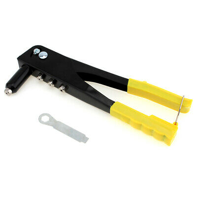 Pop Riveter Gun Kit Blind Rivet Hand Tool Set Gutter Repair Heavy Duty Hand Tool
