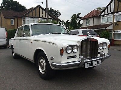Rolls Royce Silver Shadow, 1972, For Repair and Restoration.