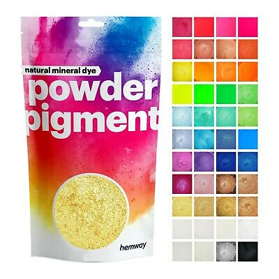 Hemway Natural Mineral Pigment Powder Cosmetic Candle Colour Colourant Dye Mix