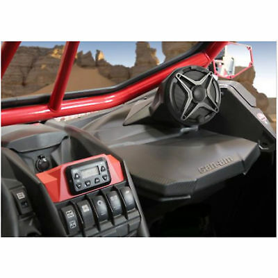 "SSV WORKS OD65U Can-Am X3 and X3 max on dash 6.5"" speaker enclosures"