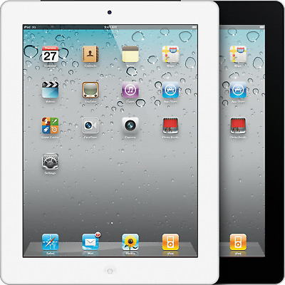 Apple iPad 2 - WiFi - 16GB 32GB 64GB, Black or White - Good Condition! A1359