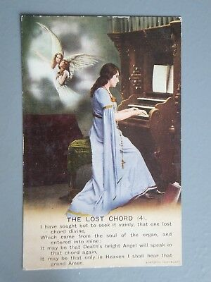 Postcard Song The Lost Chord 4 154 Picclick Uk