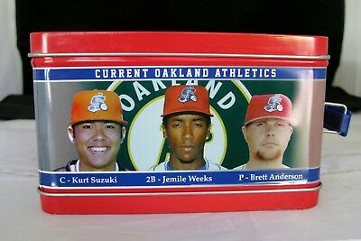 2012 Stockton Ports Lunch Box, KURT SUZUKI, J. Weeks, B. Anderson - BRAND NEW!