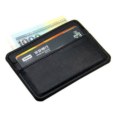 New Arrival Top Quality Slim Card Holder Case Bag Money Bank Credit Card ID