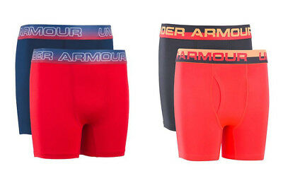 Under Armour Boy's Original Series Boxer Jock 2 Pack Brief Shorts Medium New Nwt