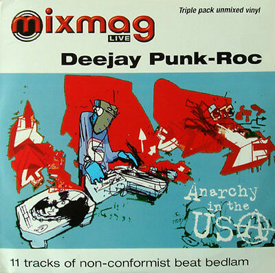 3 x LP UK**DEEJAY PUNK-ROC - MIXMAG LIVE - ANARCHY IN THE USA***4906