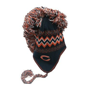 Chicago Bears NFL Youth Boys (8-20) One Size Fits Most Winter Hat Cap New Tags