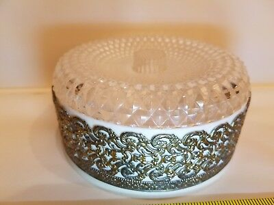 Vintage Dusting Powder Container Mon Boudoir  by April Showers Inc NY Montreal