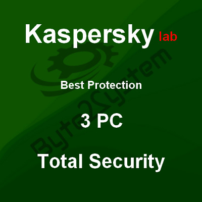 Kaspersky Total Security 2019 - 3 PC/MD/Download