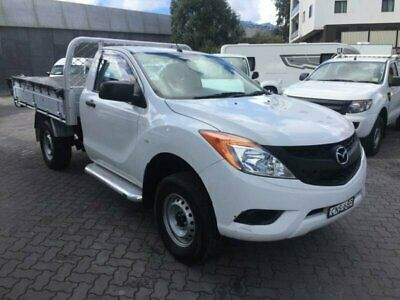 2013 Mazda BT-50 MY13 XT (4x2) White Automatic 6sp A Cab Chassis
