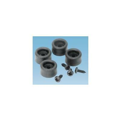 Ga50902 91450 - 'msb' Fasteners And Feet , 4 Feet + Screws , Penn Elcom