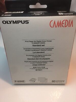 Olympus Camedia P-60NE Printer Photo Paper Genuine Original NIB Sealed