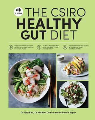 The CSIRO Healthy Gut Diet by Pennie Taylor Paperback Book Free Shipping!