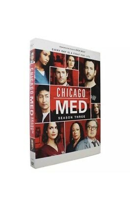 Chicago Med: Season 3 (Brand New, DVD, 5-Disc Set) Drama, Free Fast Shipping 🚀