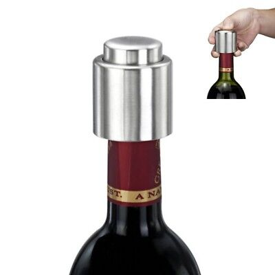 Sealer Caps Vacuum Stainless Steel Sealed Bottle Stopper For Wine Champagne GP3