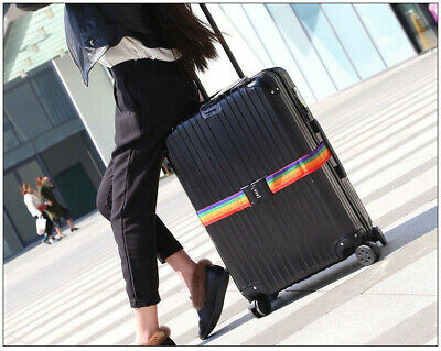 Travel Luggage Suitcase Bag Packing Secure Safe Strap Belt Password Lock 2M