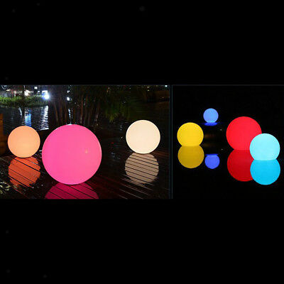 Solar Floating LED Light, Garden Pond Pool Ball Lights RGB Lighting 85mm