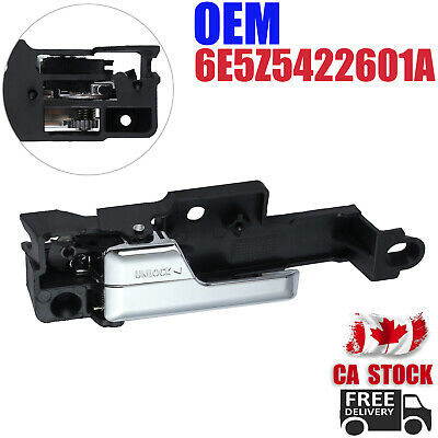 Interior Front Left LH Inner Door Handle Driver For Ford Fusion 6E5Z5422601A CA