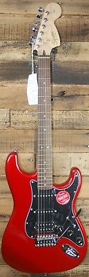Squier by Fender Affinity Strat HSS Electric Guitar - Candy Apple Red NEW