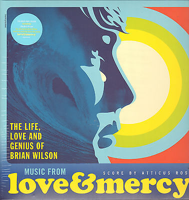 OST - Love & Mercy      Light Blue Vinyl LP   !!! NEU !!!